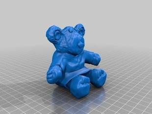 Persimmon the Teddy Bear