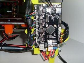 Printrboard bracket for Mendel Prusa V2
