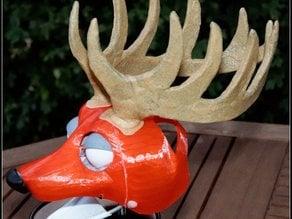 Fursuit- or puppet-head base - version11 - deer