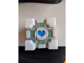 Rubik's Companion Cube, Stickers Improved