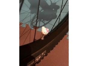 HELLO KITTY BICYCLE VALVE CAP