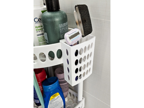Small Holder for Corner Shower Shelves