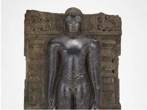 Jaina Tirthankara Chandraprabha Standing in Meditation (Kayotsarga), 12th century