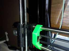 Prusa i3 X Endstop holder with gap (small)