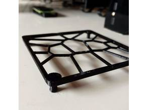 80mm Fan Guard Snap On Voronoi