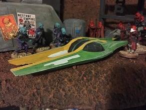 Zam's Koro-2 Airspeeder (Star Wars Legion scale)