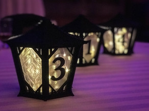 Japanese Centerpiece Lanterns for Wedding