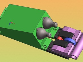 C02 Powered Pinewood Derby Motor.