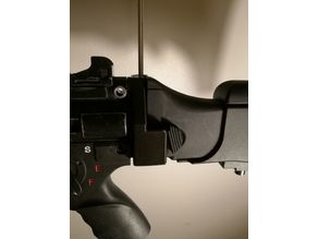 MP5K to G36 stock adapter