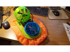 Brushless R/C Racing Hovercraft - For 200x200 printer
