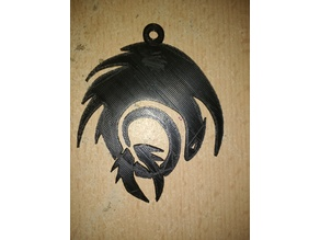 Toothless Keychain