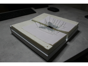 Insect spreading board