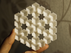 Penrose Cube Illusion
