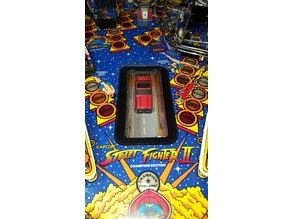 Street Fighter II Pinball Replacement Car