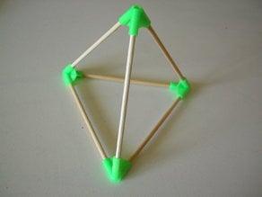 Tetrahedron vertice