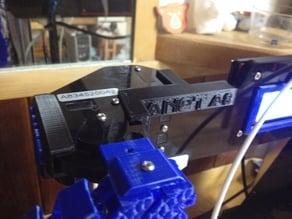 Anet a8 inner top frame brace SEGA themed PART#2 W shlotzz extruder mount
