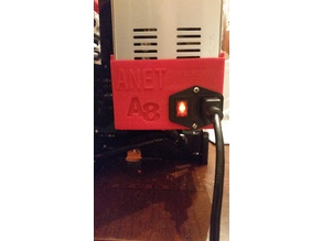 Power Supply Cover for Upgraded Anet A8 Power supply