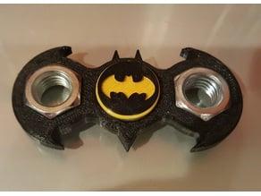 Batman Logo 1/2 inch Nut Spinner