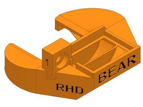 Air nozzle for the Bear extruder (Rev.1), (Prusa MK3 stock Rev.0)