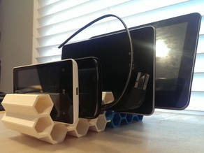 Mobile Device Modular Honeycomb Stand