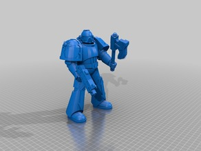 Warhammer 40k Space Marine (clean)