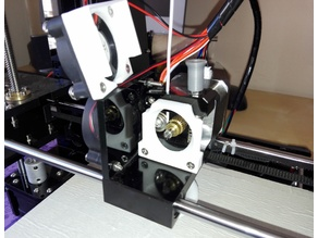 Easier/quick extruder Access, Anet A6
