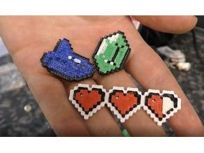 8-Bit Zelda Pins