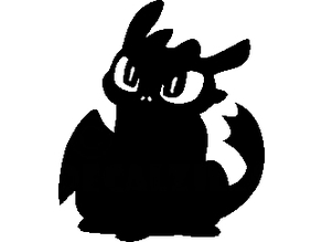 toothless silhouette