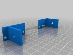 For Hypercube  Y endstop mount 3030
