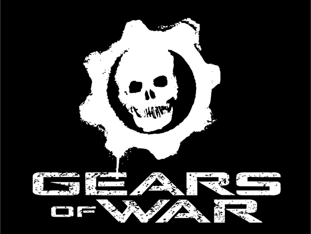 Gears of war logo and text by 3080 thingiverse voltagebd Choice Image