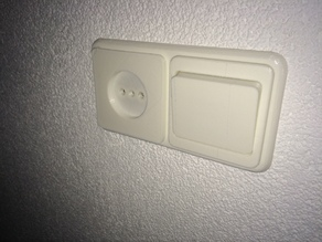 light switch and socket