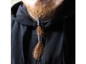 Celtic beard ring Yggdrasil and knot - beard fashon