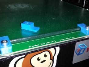 Rigidbot Build Plate Glass Clamp Remix