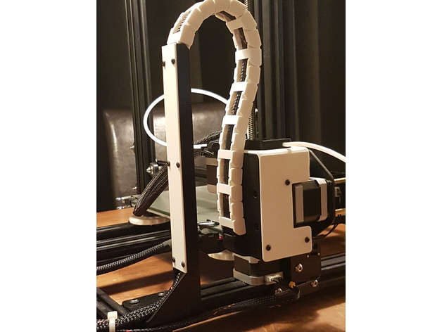 Cr 10 Ultimate Z Box The Ideal Drag Chain X Axis