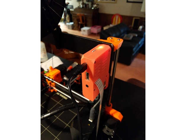 OctoPi Case for Prusa i3 MK2S and MK3 by hackoholic - Thingiverse