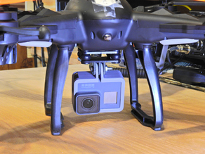 Gopro mount for Vivitar 360 sky eye drone