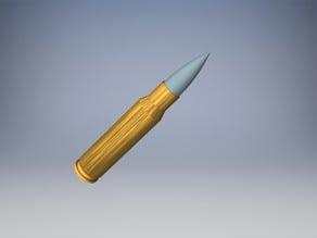 .308 Winchester Dummy Round