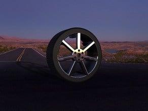 7Spoke Car Tire