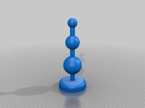 My Customized Vibrating balls -  parameterized