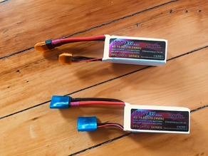 XT60 and 4s Balance Lead Lipo Cover, Cap, Protector