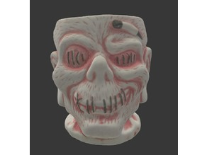 Trader Sam's Zombie Tiki Mug