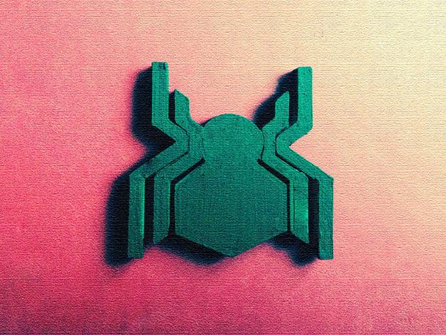 Civil War Spider Man Symbol By Karlocahun Thingiverse