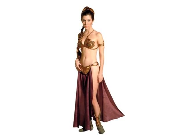 Princess Leia Slave Leia Costume By Jace1969 Thingiverse