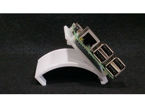 Gravity Mount (for Airwolf Axiom 3d printer) or Stand for Raspberry Pi
