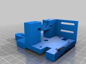 Hypercube Evolution Nut Remix Extruder Mount for TronXY Probe