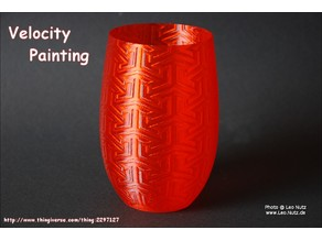 Velocity Painting Cup Example