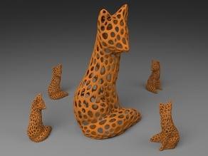 Fox - Voronoi Style