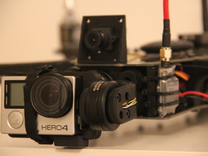Diatone White Sheep GoPro Gimbal