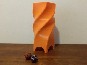 5 Sided Dice Tower