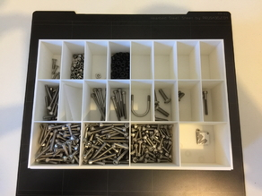 storage box for screws and nuts